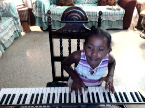 JJ Rocks 6 year old student Lionice Webster