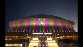 History of the Mercedes-Benz Superdome: TRICENTENNIAL MOMENTS