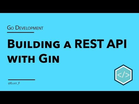 Go Gin REST API Tutorial