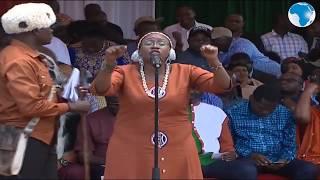 Umoja ni nguvu - Sabina Chege's address at the BBI rally in Meru