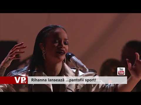 Rihanna lansează …pantofii sport!