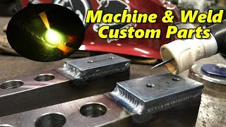 SNS 298: Custom Parts Machined & Welded