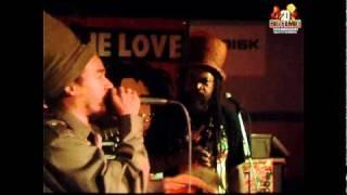 """Video RIDDIMSHOT with King Kalabash & Baron Black """"Poutchi Riddim"""" at"""