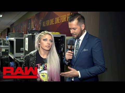 Does Alexa Bliss fear Nia Jax?: Raw Exclusive, March 26, 2018