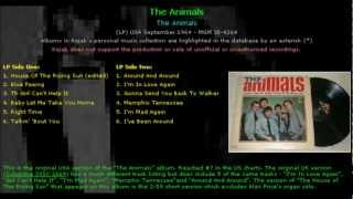 The Animals  Talkin' 'bout You Full Version   The Animals   US 1964