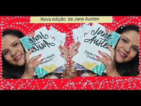 nova edição, kit com 5 livros da Jane Austen