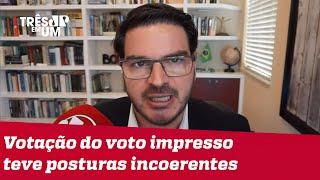 Rodrigo Constantino: Quem votou contra a PEC por picuinha contra Bolsonaro pode ter dado tiro no pé