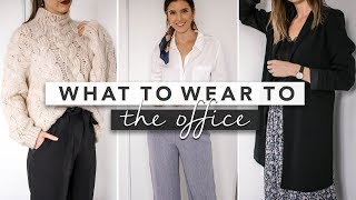 What to Wear to The Office - Simple and Comfortable Outfits | by Erin Elizabeth