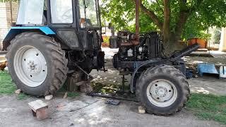 Ремонт сцепления трактора МТЗ 892