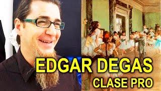 CLASE PRO: EDGAS DEGAS. DIBUJO CON PASTEL + EJERCICIOS DE ALUMNOS