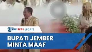 Viral Video Bupati Jember Bernyanyi di Pesta Pernikahan Disebut Langgar Prokes, Berakhir Minta Maaf