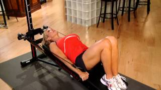 Pull Over on the Total Trainer Home Gym