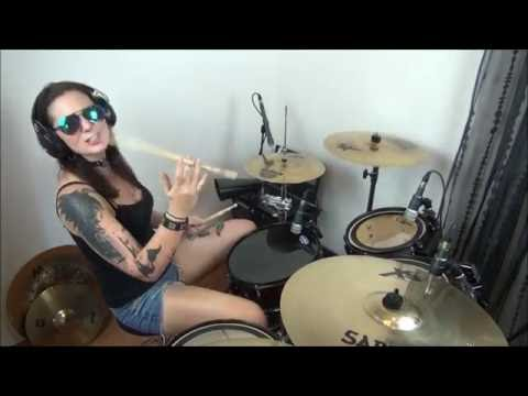 Meggy Adroit - Red Hot Chili Peppers - Suck my Kiss - DrumCover