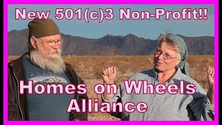 501(c)3--Homes on Wheels Alliance Non Profit