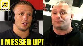 TJ Dillashaw apologizes for abruptly ending the interview with Matt Serra,Colby on Ali,Conor