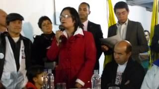preview picture of video 'Alcaldesa Diana Mabel Montoya en inauguraciòn Punto de Derecho a la Salud'