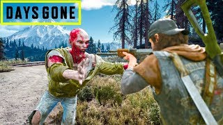 Open World Zombie Apocalypse! Days Gone Gameplay!