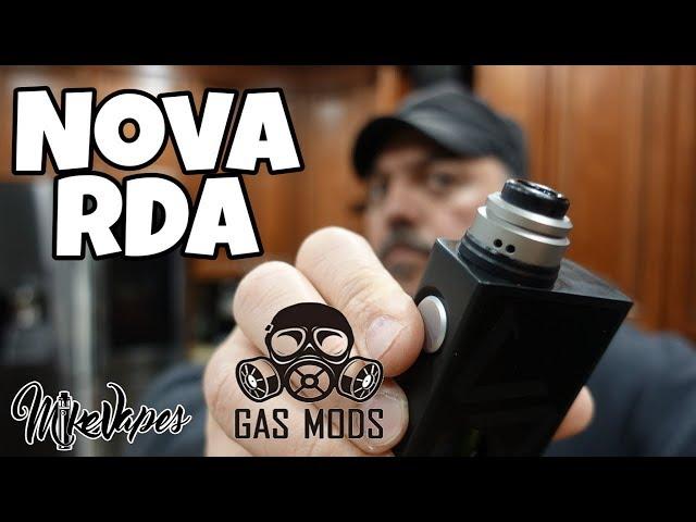 Gas Mods Nova 22mm Single coil RDA! Coil & Wicking Tutorial