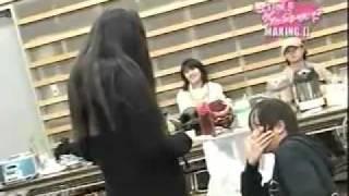 She slapped Yamapi O.o