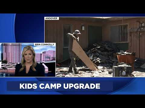 Channel 3 Coverage of Channel 3 Kids Camp Roof Donation