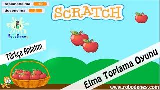 Scratch 3 ile Elma Toplama Oyunu