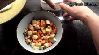 Finch Diaries - My Bird Food Breakfast