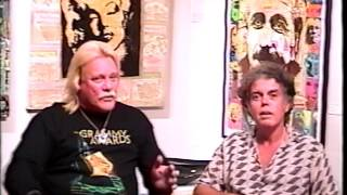 Artist Davo interviewed by Jason Schwartz in 2002, Lahaina, Maui, Hawaii