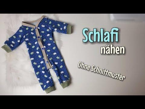 Schlafanzug - Nähanleitung OHNE Schnittmuster - Für Anfänger - Nähtinchen