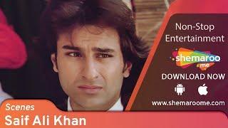 Saif Ali Khan Scenes from Kachche Dhaage -  Ajay Devgn - Namrata Shirodkar - 90