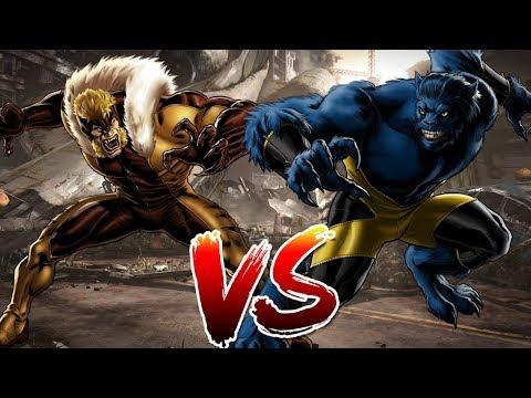 Beast VS Sabretooth | Who Wins?