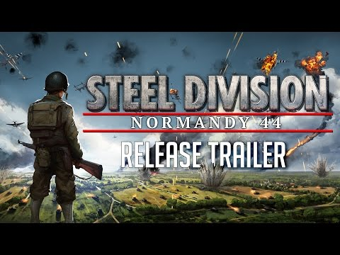 Steel Division: Normandy 44 - Release Trailer thumbnail