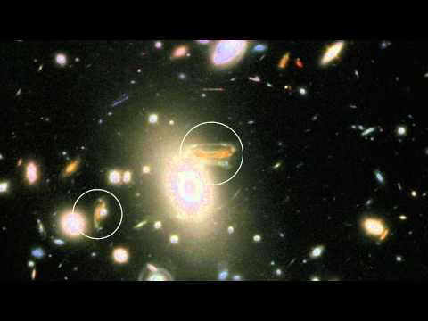 Einstein's Rings and the Fabric of Space