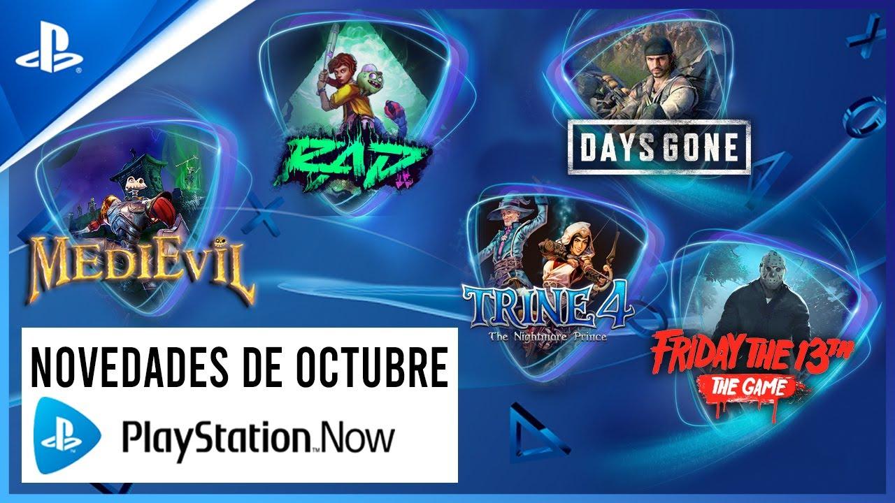 Days Gone, MediEvil, Friday the 13th encabezan los juegos de octubre de PS Now