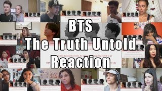 "BTS - 'THE TRUTH UNTOLD' (Feat. Steve Aoki) ""Reaction Mashup"""