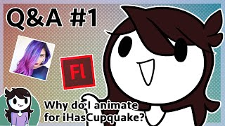 Q&A #1: Why do I Animate for iHasCupquake?