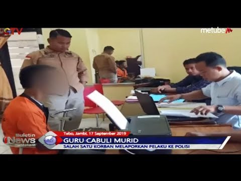 TEGA! Guru Cabuli Puluhan Anak Murid di Jambi - BIM 17/09