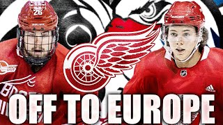 Red Wings News & Rumours: Top Prospects Off To Europe (Moritz Seider + Kasper Kotkansalo - NHL 2020)