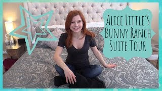 Room Tour at the Bunny Ranch With Alice Little