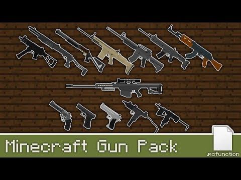 Working Guns In Vanilla Minecraft 1 14 4 Minecraft Map