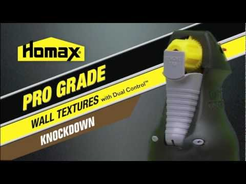 Pro Grade Wall Texture, Water Based, Knockdown, 25 oz