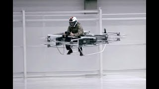 Flying Hoverbike Made In Russia
