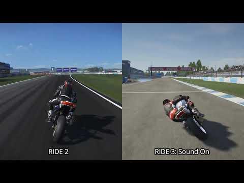 RIDE 2 Vs. RIDE 3 Comparison (Xbox One X)
