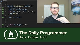 Jolly Jumper - The Daily Programmer #311