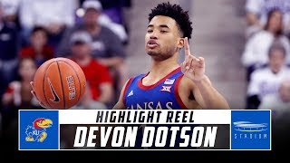Kansas G Devon Dotson Highlight Reel - 2019-20 Season | Stadium
