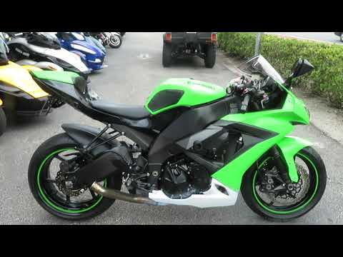 2010 Kawasaki Ninja® ZX™-10R in Sanford, Florida - Video 1