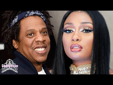 Megan Thee Stallion accused of making an illuminati deal to sign with Jay-Z   Diddy, Lori, Cassie