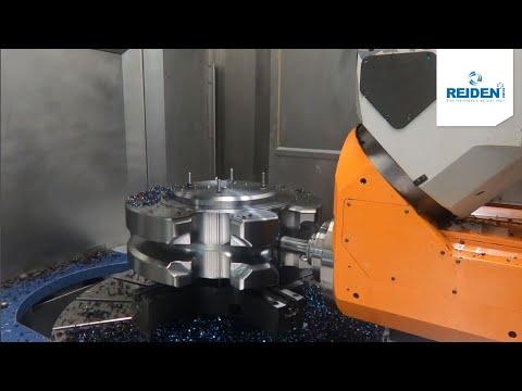 REIDEN RX12 Herstellung eines Kettenrades / REIDEN RX12 Production of a sprocket