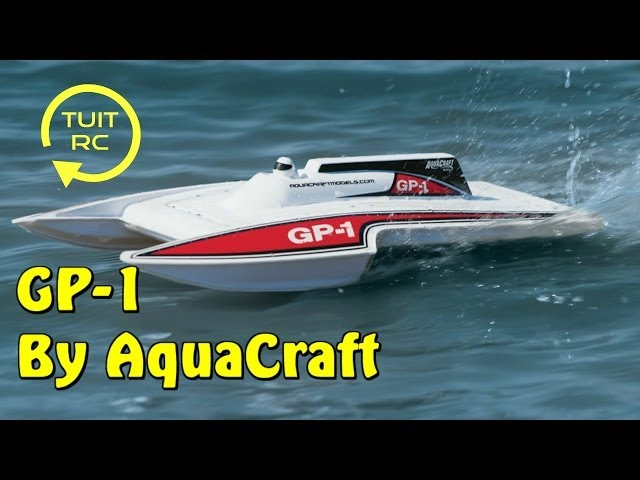 AquaCraft GP-1 Ultra Hydroplane RC Boat Review