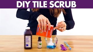 Tile Scrub - Day 27 - 31 Days Of DIY Cleaners (Clean My Space)