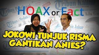 Benarkah Jokowi Tunjuk Tri Rismaharini Gantikan Gubernur DKI Jakarta Anies Baswedan? Begini Faktanya